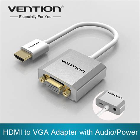 converter usb to vga vention hdmi to vga adapter converter cable with micro usb