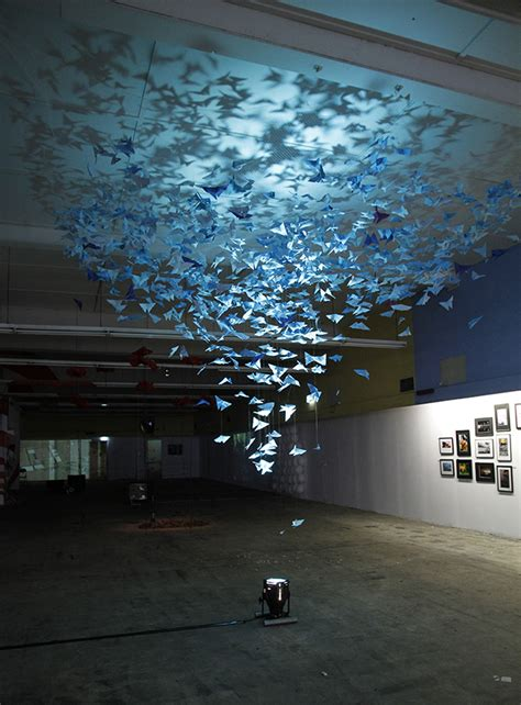 Doraemon Fly Set 2in 1 White artist s inspires beautiful butterfly installation my modern met