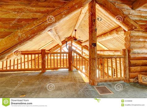 Log Cabin Ceilings by Log Cabin Ceiling And Staircase Royalty Free Stock Photos Image 24498898
