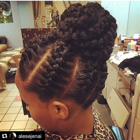 flat twist in a bun 85 hot photo look good with the flat twist hairstyles