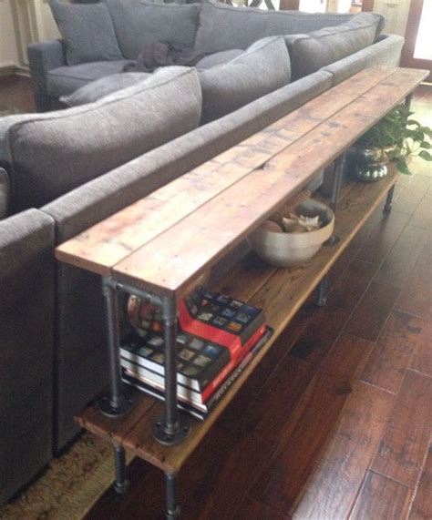 black pipe sofa table best 25 rustic industrial decor ideas on