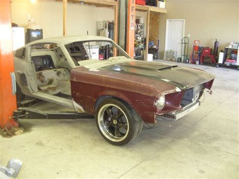 1967 mustang fastback 7f02c with lots of parts purchase new 1967 mustang fastback project with shelby like parts in ogden utah united states
