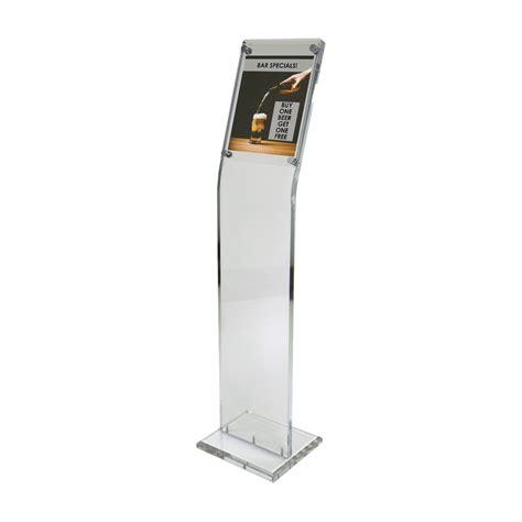 Acrilik Acrilic Acrilyc Standing Pop A4 poster stands shop acrylic metal wood poster stands
