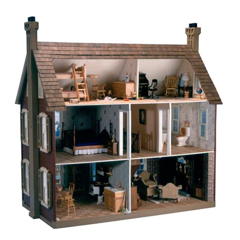 design by you dollhouse greenleaf willow dollhouse kit 1 inch scale