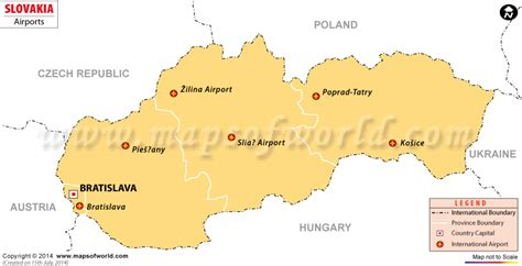 intern europe airports in slovakia slovakia airports map