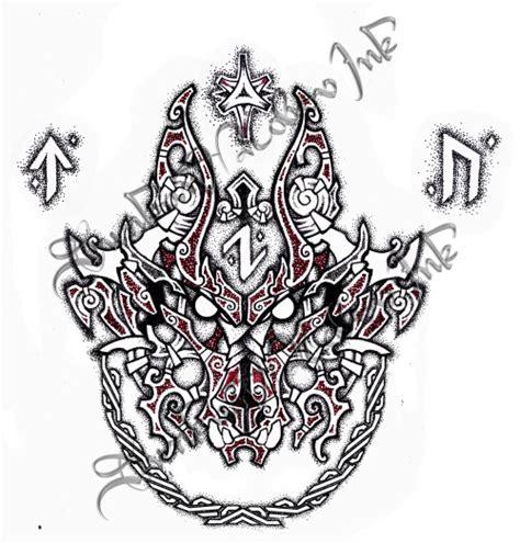 fenrir tattoo by ebonshireforest on deviantart