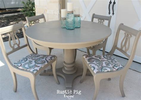 French Provincial Dining Room Set how to give old furniture a modern look with chalk paint