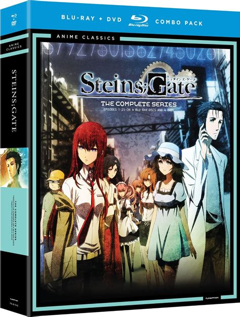Dvd Anime steins gate complete series ep 1 24 ova anime classics