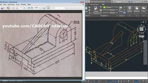 tutorial autocad isometric drawing autocad 2015 isometric drawing tutorial autocad