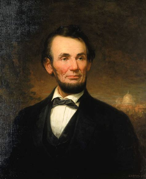 the story about abraham lincoln 19th century american paintings