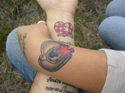 heart couple tattoos 45 fantastic matching wrist tattoos design