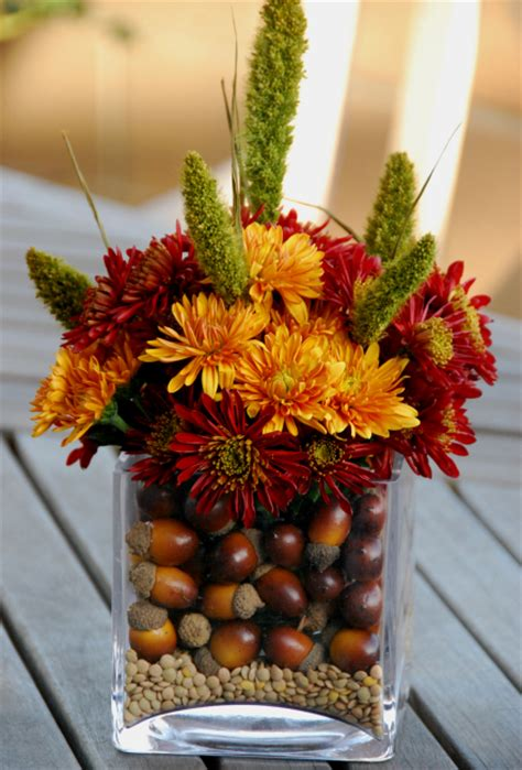 wedding decor fall centerpieces