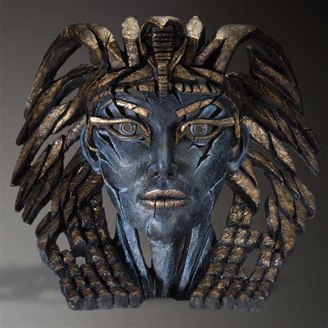 edge sculpture cleopatra egyptian blue artists