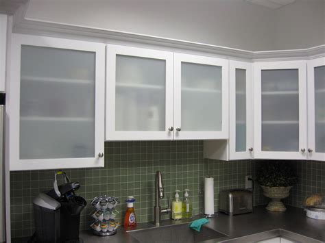 Frosted Glass Kitchen Cabinet Doors White Kitchen Cabinets With Frosted Glass Doors Shayla S Loft Pinterest Glass Doors Doors