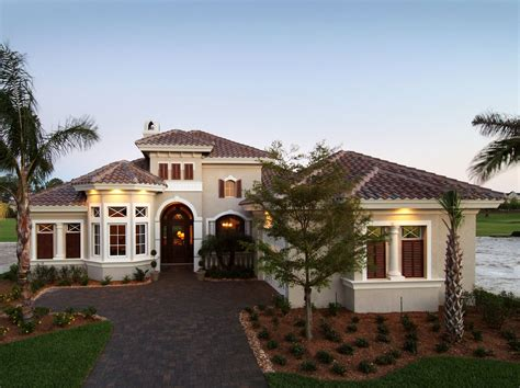 one story mediterranean house plans one story mediterranean house plans