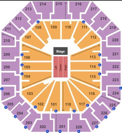 colonial arena seating colonial arena tickets in columbia south carolina