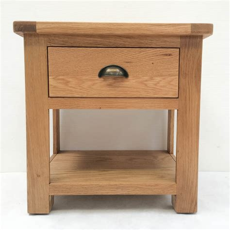 Ashford Manor Solid Oak L Table Side Table End Side Tables For Living Room