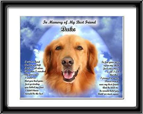 golden retrievals poem dear heaven poem memorial memory on popscreen