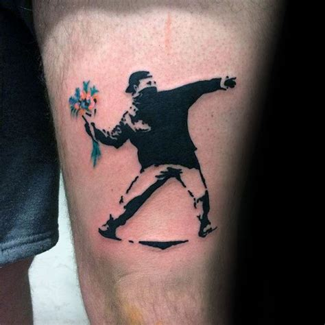 banksy tattoos 70 banksy tattoos for ink design ideas