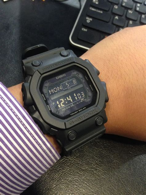 Casi G Shock my eastern collection casio g shock black out basic
