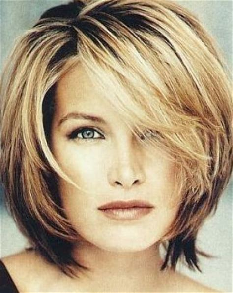medium layered haircuts over 50 round face layered bob hairstyles for plus size women