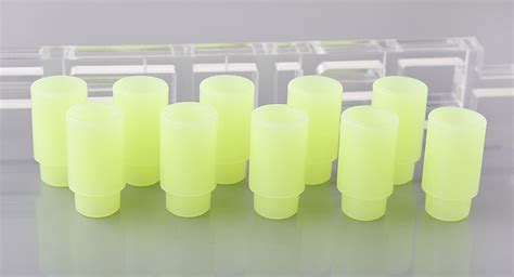 buy silicone bunny style 510 drip tip silicone yellow at