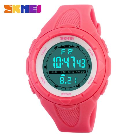 skmei brand fashion casual s waterproof led