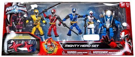 Figure Power Ranger Set 5 power rangers steel mighty set exclusive 5