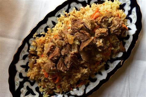 uzbek cuisine and food uzbekistan unint tajikistan plov recipe