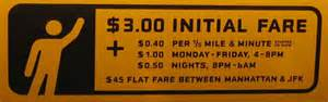 Tx Cab Rates Nyc Taxi Guide