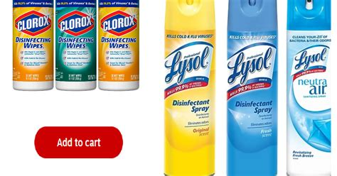 expired lysol disinfecting spray  clorox disinfecting wipes   order heavenly