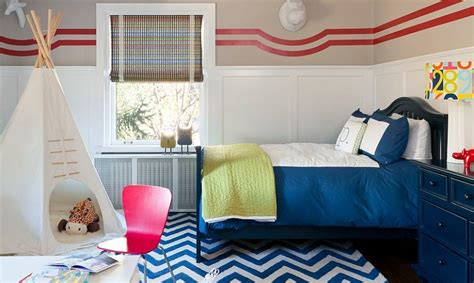 25 kids bedrooms showcasing stylish chevron pattern bedrooms design ideas remodel and decor pictures