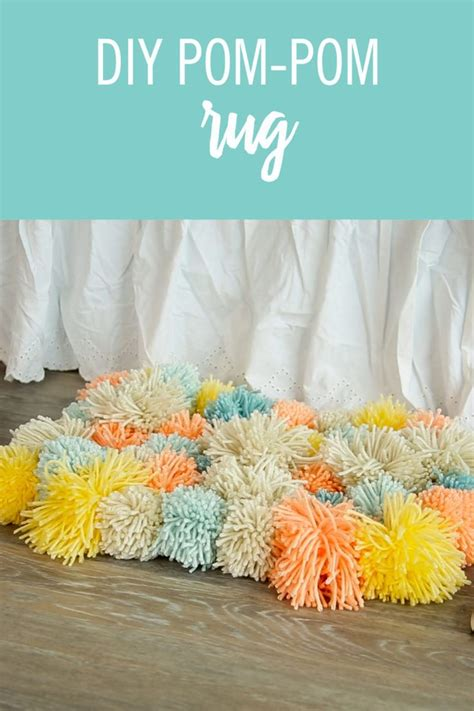 how to make a yarn pom pom rug best 25 pom pom rug ideas on pom pom mat diy pom pom rug and diy