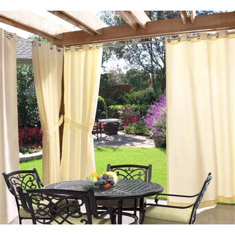 best outdoor curtains 25 best ideas about gazebo curtains on pinterest