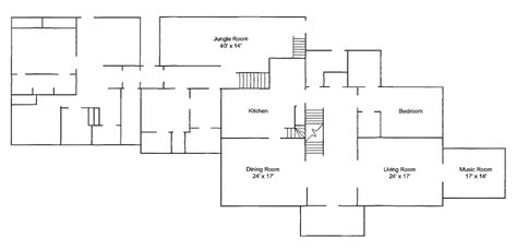 graceland floor plans file graceland memphis tn floorplan 1st floor jpg