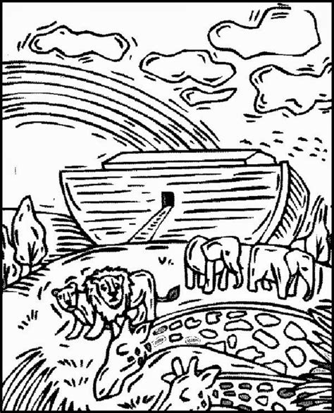 coloring book pages of noah s ark free christian coloring pages noahs ark coloring pages
