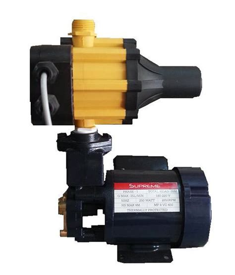 pressure pumps for bathrooms india buy supreme 0 5 hp pressure pump super silent noise