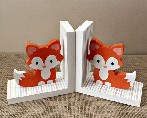 Woodland Nursery Decor by Best 25 Book Holders Ideas On