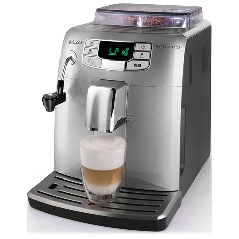 Coffee Maker Philips Saeco espresso machine saeco intelia evo philips hd8752 99