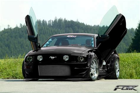 ford in black black ford mustang 3 cool hd wallpaper hdblackwallpaper