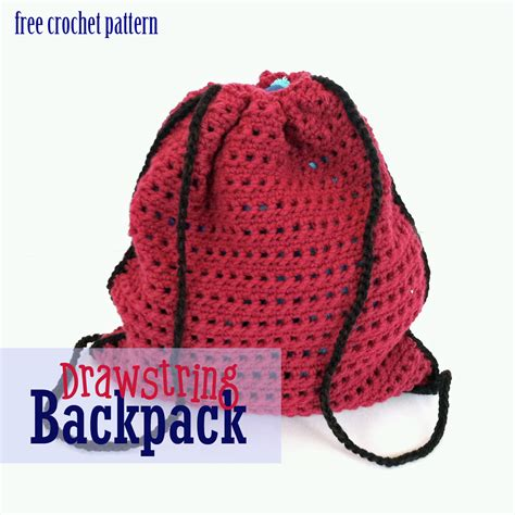 free pattern crochet drawstring bag free crochet pattern drawstring bag
