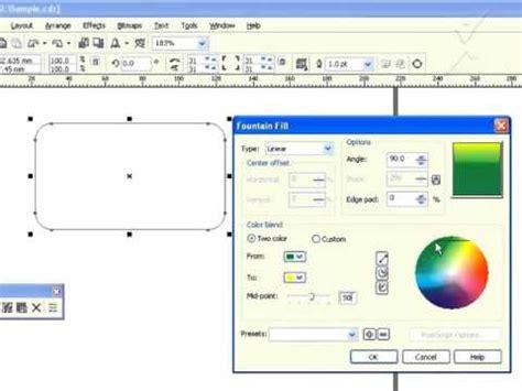 pattern fill corel draw x7 coreldraw tamil tutorial 15 coreldraw x7 tamil tutorial