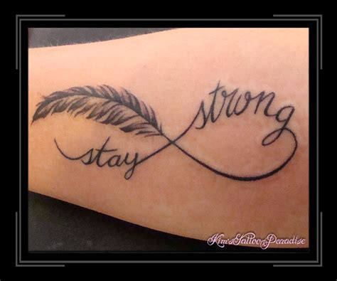 strong tattoo designs stay strong infinity tattoos www pixshark images