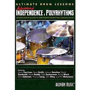 drum tutorial books hudson music advanced independence polyrhythms ultimate