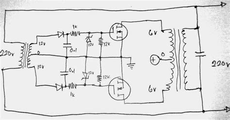 grid tie inverter diagram simplest grid tie inverter gti circuit using scr