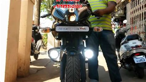 Lu Led Motor R15 pulsar 220f led fog light by vishal