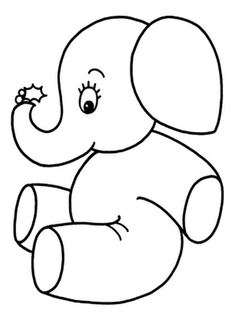 elephant ear coloring page elephant ears sheet coloring pages