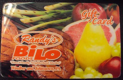 Bi Lo Gift Card - gifts randy s bilo
