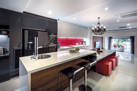 kitchen with an island design 14 kitchen island designs that fit singapore homes lookboxliving