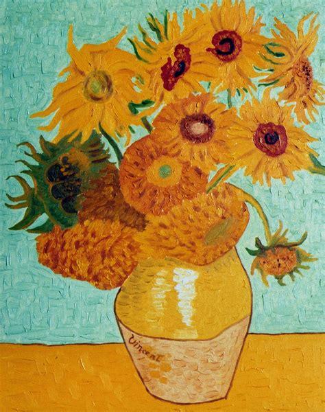 vaso girasoli gogh artwireless ritrovato il giallo originale di gogh